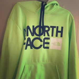 The North Face Neon Green Pullover